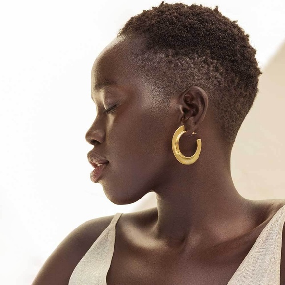 SOKO Shop Jewelry - Gold Paddle Hoops
